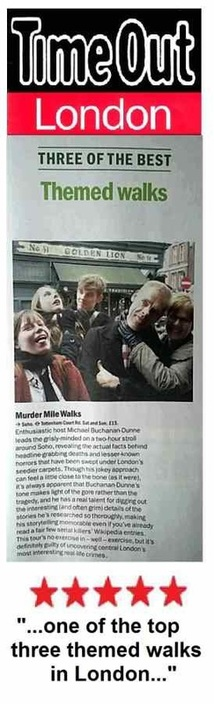 Time Out rates Murder Mile Walks