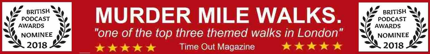 Murder Mile Walks headline banner - Quirky Things To Do In London
